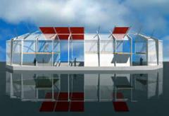 Строительство готового жилья на воде