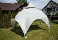 Dome tent for exhibitions and events