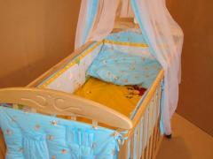 Bed for newborns from the producer