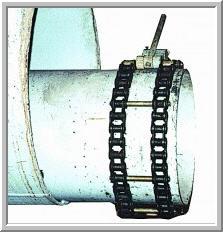 Centralizer pipe eccentric TsTE