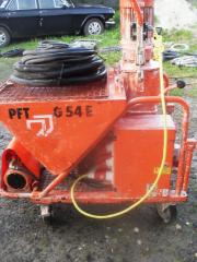 Штукатурная станция, штукатурная машина PFT G54