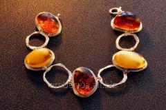 Bracelet from amber Paris