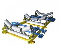 Multi-roll belt scales VK-230