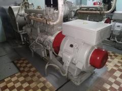 Генератор дизельный ДГА-48 (электростанция)...