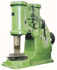 The pneumatic forging hammer (the mass of the falling part of 16 kg, 20 kg, 25 kg, 40 kg and 75 kg)