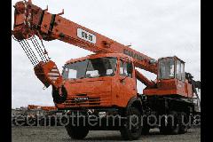 Услуги автокрана КТА-28, 28 т