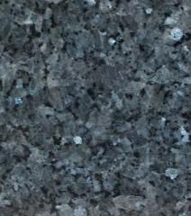 Granit płyty Saphire błękit polerowane 3 cm brązowo-niebieskie