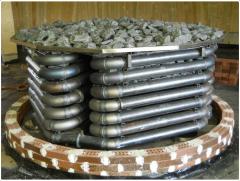 Газовая печь для бани и сауны EOS Kusaterm 75/90 кВт
