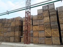 Ящик деревянный, контейнер деревянный б/у
