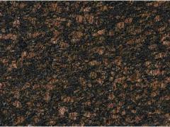 TAN BROWN Granitplatte poliert 3 cm schwarz-braun