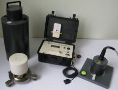 Modelo digital en tres de flujo de puerta magnetómetro LEMI-018