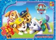 Головоломки ТМ G-Toys из серии Paw Patrol, щенячьем патруль, 35 элементов 0821