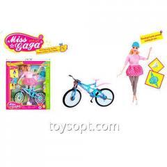 Кукла 51802, 18шт, 30см, шарнирная, ролики, скейт, шлем, в кор-ке, 29,5-32,5-8см
