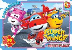 Пазлы ТМ G-Toys из серии Супер крылья,  70...