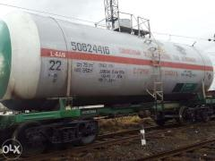 Железнодорожные цистерны для сжиженного газа...
