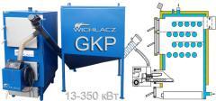 Котел твердотопливный Wichlaсz модель GKP под