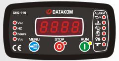 DATAKOM DKG-116 MPU Контроллер ручного и