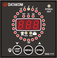 DATAKOM DKG-117, 72x72mm Контроллер синхронизации