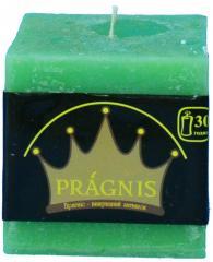 Candel Rustic Square green ( 7,5*7,5 х 7,5 , 30