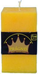 Candel Rustic Square yellow ( 7,5*7,5 х 12 , 50