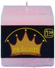 Candel Rustic Square pink ( 7,5*7,5 х 7,5 , 30