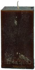 Candel Rustic Square chocolate ( 7,5*7,5 х 12 , 50