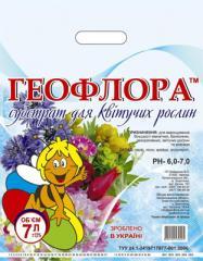 Торфосмесь Геофлора для Цветущих 7л