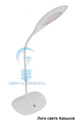 Лампа настольная светодиодная 5W белая DSL049