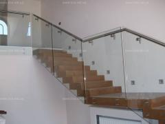 Glass protections to the house
