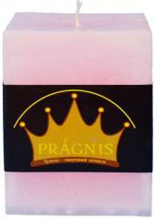 Candel Rustic Square pink ( 9,5*9,5 х 12 , 85