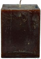 Candel Rustic Square chocolate ( 9,5*9,5 х 12 , 85