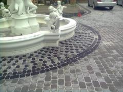 Paving slabs, paving slabs of Kolomyya
