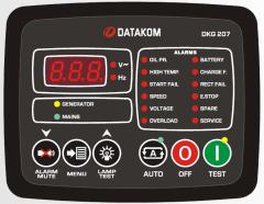 DATAKOM DKG-207 Контроллер автоматического...