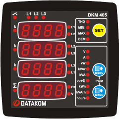 DATAKOM DKM-405 Анализатор электросети, ...