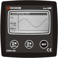 DATAKOM DKM-409 Анализатор сети,  96x96mm, ...