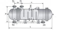 Теплообменный аппарат с неподвижными трубными решетками, температурным компенсатором и расширителем на кожухе диаметром 1000 и 1200 мм повышенной тепловой эффективности