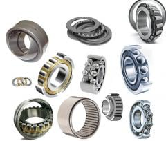 Bearings cylindrical roller bearings for pulley