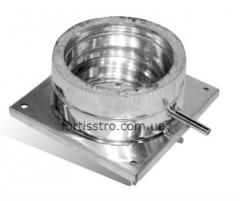Floor stand for chimney stainless steel 100/160 mm