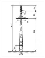 Промежуточная опора П220-3+5