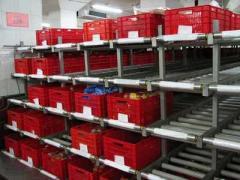 Автоматизированные склады (складирование, выдача,