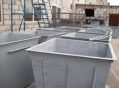 Контейнеры из металла для мусора,Купить
