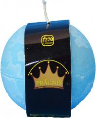 Candel Rustic Ball light blue ( D-10 х 10, 70