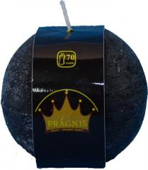 Candel Rustic Ball black ( D-10 х 10, 70 hours )