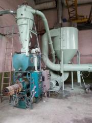 Characteristic of the dryer ABM 0-65