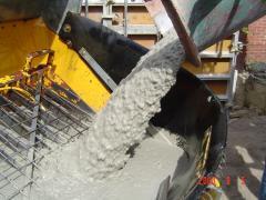 Бетон , свежий бетон, Украина