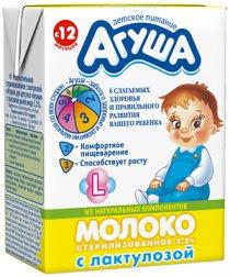 Агуша детское молочное, фруктовое, овощное