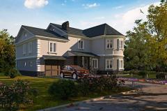 Дома жилые по индивидуальным проектам -