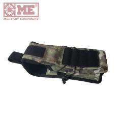 Pouch for two AK shop with Molle system color