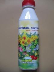 Жидкое органическое удобрение
