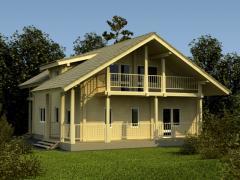 Дома жилые эконом класса - строительство домов из